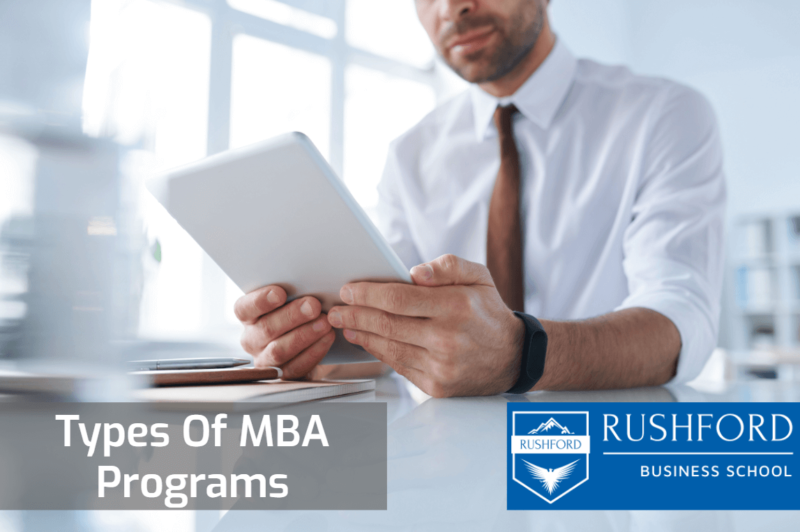 Types of MBA in Switzerland